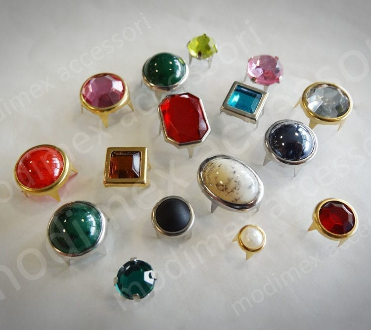 Strass, pietre e perle